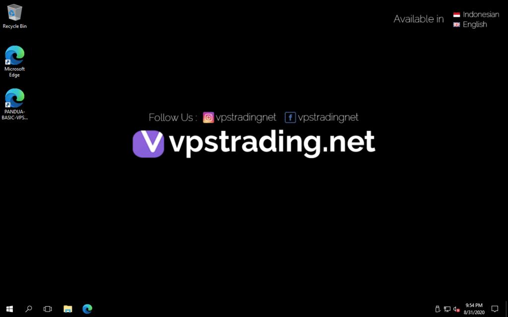 cara setting vps forex